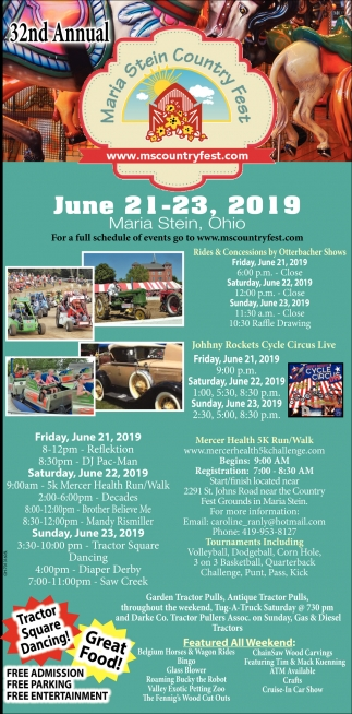 32nd Annual - June 21 - 23