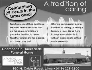 Celebrating 25 years in the Lima area!