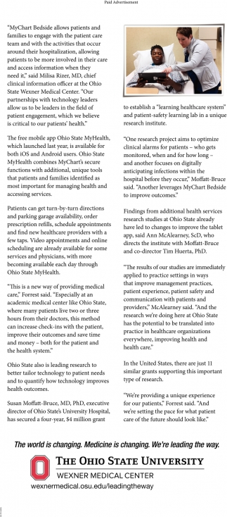 Ohio State provides new tools to improve to health care