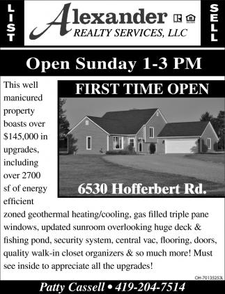 6530 Hofferbert Rd.