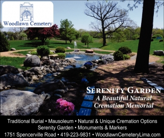 Serenity Garden - A Beautiful Natural Cremation Memorial