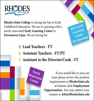 Led Teachers ~ Assistant Teachers ~ Asisstant to the Director ~ Cook