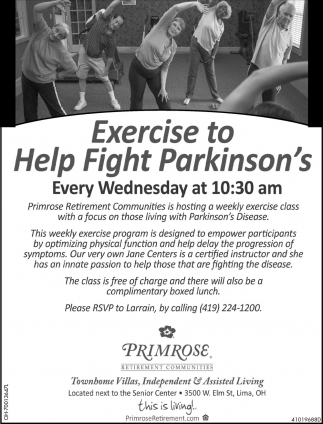 Exercise to Help Fight Parkinson's