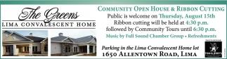 Community Open House & Ribbon Cutting