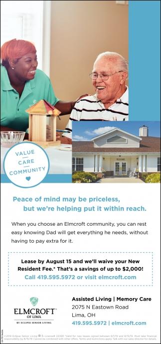 Value - Care - Community