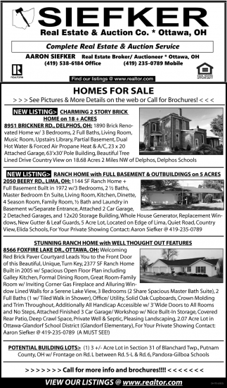 Complete Real Estate & Auction Service