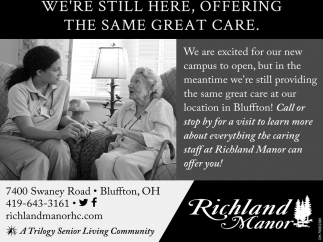 Senior Living in Bluffton