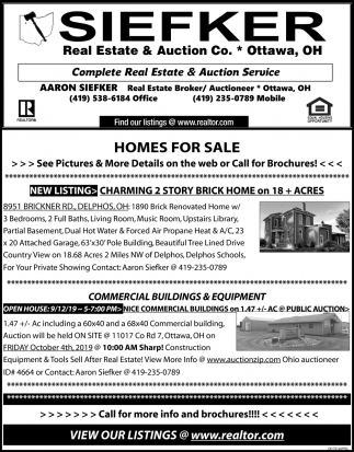 Homes for Sale