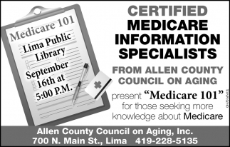 Certified Medicare Information Specialists