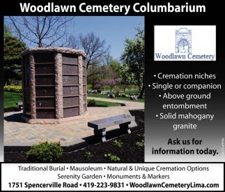 Woodlawn Cemetery Mauseloum