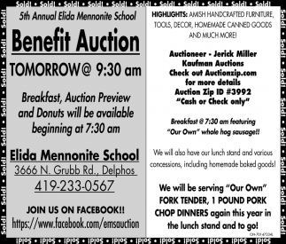 Benefit Auction