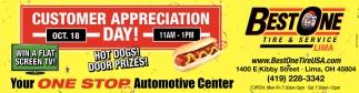 Customer Appreciation Day - Oct. 18