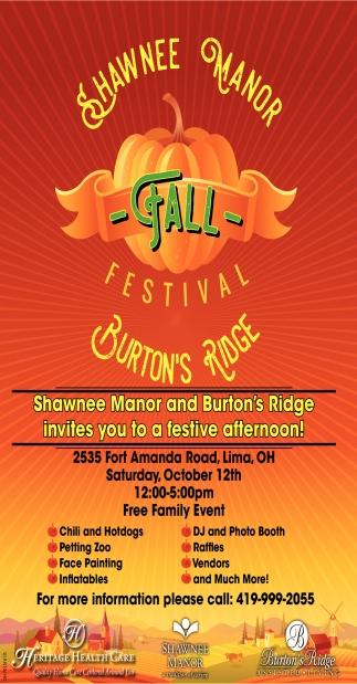 Fall Festival - Burton's Ridge