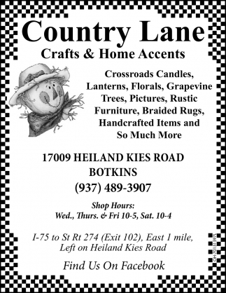 Crossroads Candles, Lanterns, Florals, Gravepine