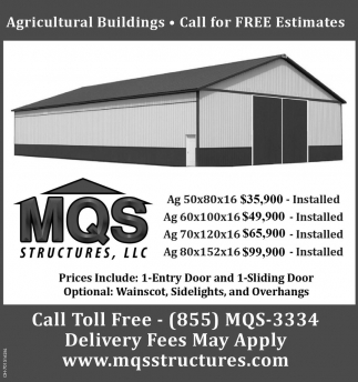 Agricultural Buildings - Call for Free Estimates