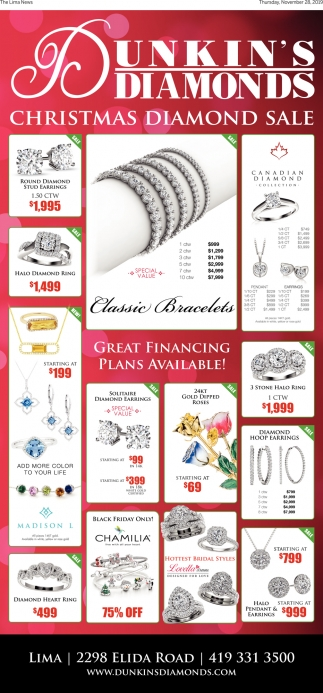 Christmas Diamond Sale
