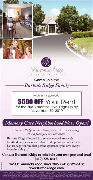 Memory Care Neighborbood Now Open!
