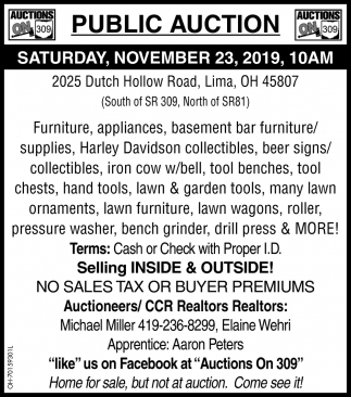 Public Auction - November 23