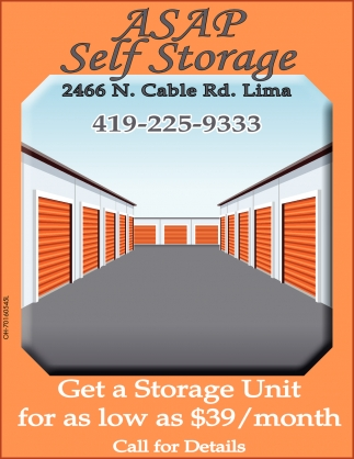 Get a a Storage Unit for as low as $39 / month