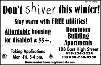 Don't Shiver This Winter!