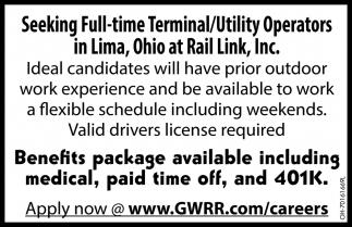 Terminal/Utility Operators