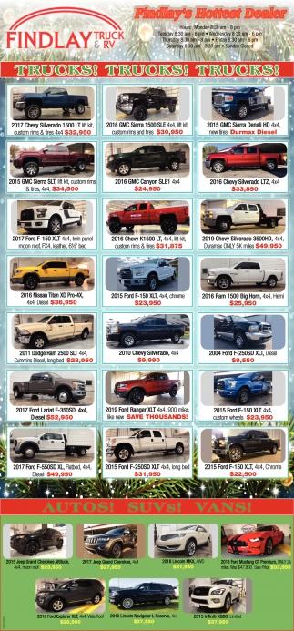 Trucks! Trucks! Trucks!