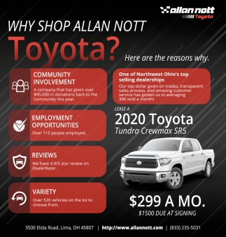 Why Shop Allan Not Toyota?