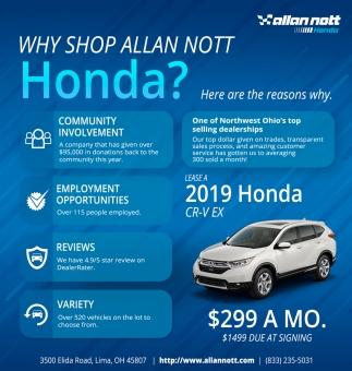 Why Shop Allan Not Honda?