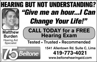 Free Hearing Exam