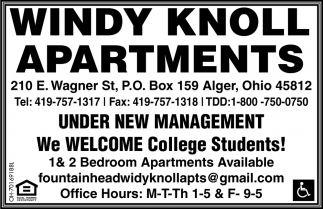 Under New Management - we Welcome College Students!