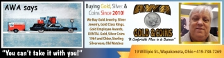 Buying Gold, Silver and Coins since 2010
