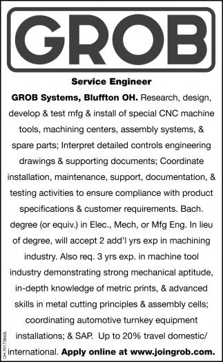 Service Engineer