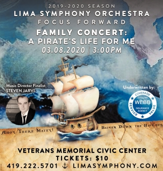 Family Concert: A Pirate's Life For Me