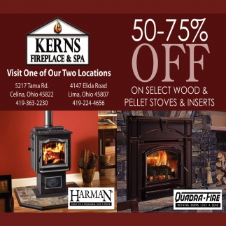 50-75 Off On Select Wood & Pellet Stoves & Inserts