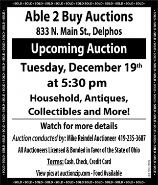 Upcoming Auction