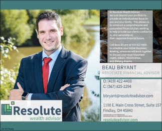Beau Bryant, Associate Financial Advisor