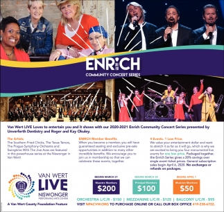 Enrich Community Concer Series