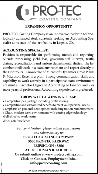 Accounting Specialist