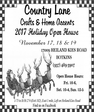 2017 Holiday Open House