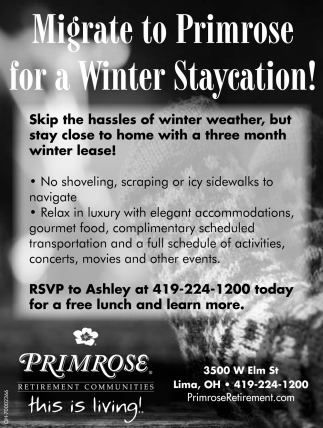 Migrate to Primrose for a Winter Staycation