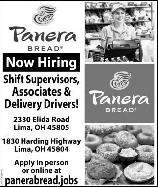 Now Hiring, Panera Bread