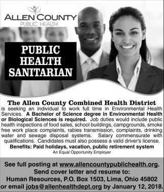 Public Health Sanitarian