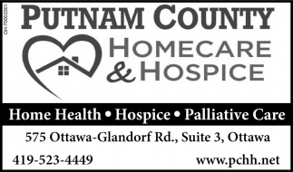 Home health, hospice, paliative care