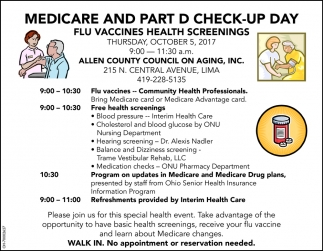 Medicare and Part D Check up Day