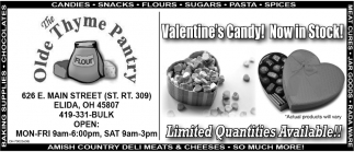 Valentine's Candy! Now in Stock!