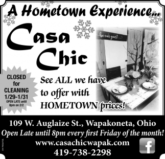See all we have to offer with hometown prices