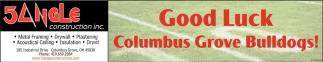 Good Luck Columbus Grove Bulldogs!