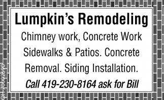 Lumpkin's Remodeling