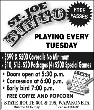 Playing every tuesday