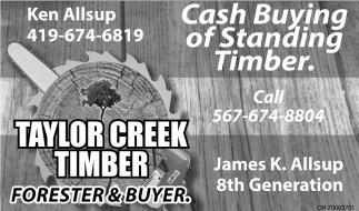 Cash buying of Standing Timber